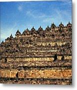 Vivid Borobudur Metal Print