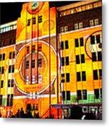 Vivid Sydney 2014 - Museum Of Contemporary Arts 2 By Kaye Menner Metal Print