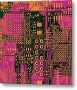Vo96 Circuit 6 Metal Print