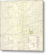 Vol. 1. Plate, N. Map Bound By Brooklyn Ave., City Line Metal Print