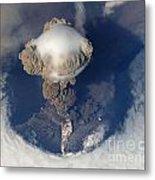 Volcanic Eruption Eruption Volcano Volcanism Metal Print