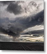 Volcanic Plumes With Poisonous Gases Metal Print