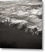 Volcano Ash Iceland Metal Print