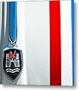 Volkswagen Vw Hood Emblem 3 Metal Print