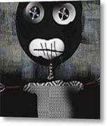 Voo Doo Doll Metal Print