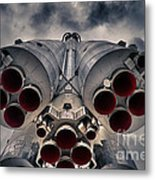 Vostok Rocket Engine Metal Print