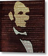Votes For Freedom Metal Print