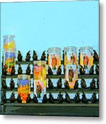 Votives Santa Barbara Metal Print