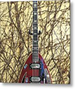 Vox Starstream Vi Guitar 1967 Metal Print