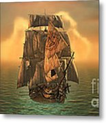 The Voyage Of The Dawn Treader Metal Print