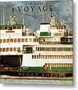 Voyage To Puget Sound Metal Print