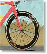 Vuelta A Espana Bike Metal Print