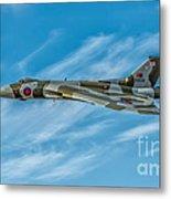 Vulcan Bomber Metal Print by Adrian Evans
