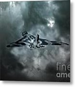 Vulcan Storm Metal Print