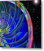 Fun On Planet X Metal Print