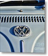 Vw Volkswagen Bug Beetle Metal Print