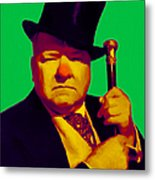 W C Fields 20130217p180 Metal Print