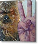 W Is For Wookie Metal Print