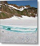 Wa, Goat Rocks Wilderness, Snow And Ice Metal Print