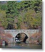 Wachusett Reservoir Spillway 6 Metal Print