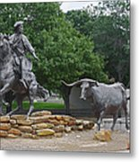 Waco - Branding The Brazos Metal Print by Christine Till