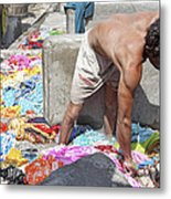 Wadeing Through The Dirty Laundry Metal Print