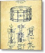 Waechtler Snare Drum Patent Drawing From 1910 - Vintage Metal Print