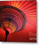 Wagasa Metal Print by Delphimages Photo Creations