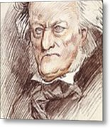 Wagner, Richard 1813-1883. German Metal Print