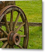 Wagons West Metal Print
