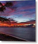 Waialua Sunset Metal Print