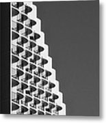 Waikiki Hotel With A Wave Metal Print by Tin Lung Chao