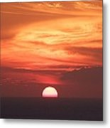 Waikiki Sunset No 2 Metal Print