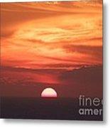Waikiki Sunset No 3 Metal Print