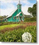 Waimea Church Metal Print