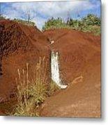 Waimea Waterfall Metal Print