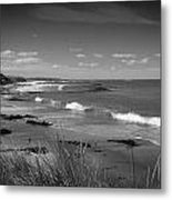 Waipapa Beach New Zealand Metal Print