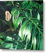 Waipeo Green Metal Print