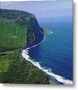 Waipio Valley Metal Print