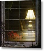 Waiting At The Window Metal Print