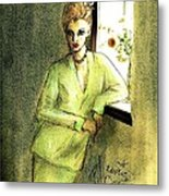 Waiting By The Window Metal Print