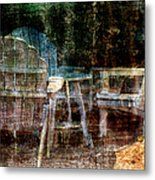 Waiting For Friends Metal Print