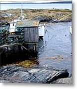 Waiting For Lobsters Metal Print