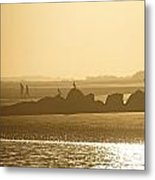 Waiting For Sunset Metal Print
