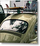 Beetle Surf   Metal Print
