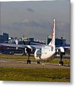 Waiting For Take-off  Metal Print