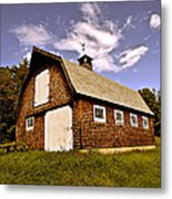 Waiting For The Barn Dance Metal Print