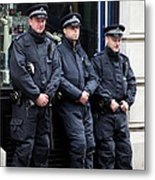 Waiting For The Riots Metal Print by Jez C Self