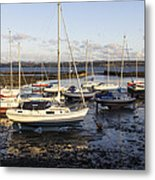 Waiting For The Tide To Turn Metal Print