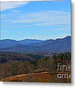 Waiting For Winter In The Blue Ridge Mountains Metal Print
